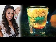 How to make the Alien Brain Hemorrhage Shot! - Tipsy Bartender - YouTube