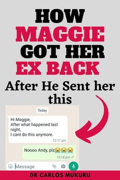 See how to quickly get your ex-back. Answer on how to my ex-boyfriend back.