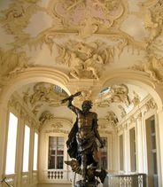 Vorraum zum Ahnensaal im Residenzschloss Rastatt