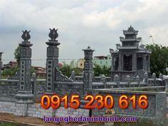 Khu nghĩa trang gia đình ở các tỉnh Bắc Bộ - Nghĩa trang gia đình bằng đá