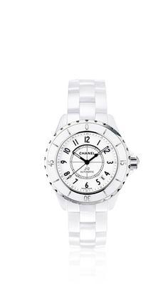 reloj J12 BLANCO CHANEL CLÁSICO J12. http://www.chanel.com/