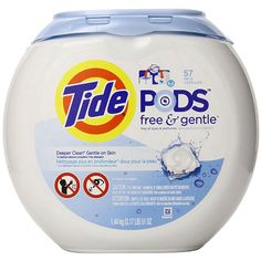 Best New Single Dose Laundry Detergent: Tide Pods Free & Gentle http://www.bhg.com/better-homes-and-garden-magazine/best-new-product-awards/best-new-product-award-household/?socsrc=bhgpin031215bestnewlaundrydetergent&page=25