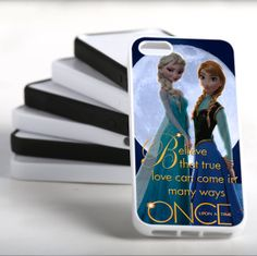 Disney Frozen Anna And Elsa Once Upon a Time Case by Sayankmamakh, $13.99
