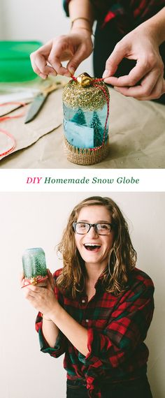 Your E-Organization - Employ An Accountant Or Do It Yourself Diy Homemade Snow Globe Christmas Globes, Winter Christmas, Christmas Crafts, Christmas Stuff, Homemade Snow Globes, Crafts For Kids, Diy Crafts, Cricut, Do It Yourself Crafts