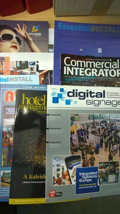 Good digital signage news Hotel Signage, Digital Signage, Commercial, News, Digital Signature
