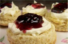 Scones From Joy Of Baking. Melt in your mouth. I have made these and they are always perfect!