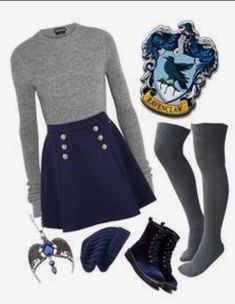 Nerd Fashion, Fandom Fashion, Teen Fashion Outfits, Look Fashion, Girl Outfits, Disney Fashion, Teen Fashion Winter, School Fashion, Mode Harry Potter