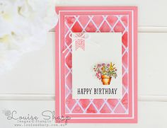 Louise Sharp | CASEing Bibi Cameron - Global Design Project | Stampin' Up!