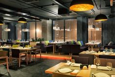Concrete bar & restaurant by Yunakov Studio, Kiev – Ukraine » Retail Design Blog