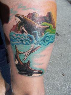 Orca Tattoo by TaylorT127 on DeviantArt