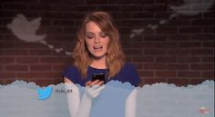 That time she couldn't care less about the mean tweets she gets. | 21 Times Emma Stone Gave Absolutely Zero F*cks