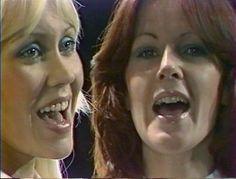 Agnetha Fältskog and Anni-Frid Lyngstad ABBA