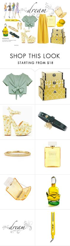 """Holiday Chic"" by hind-al-tayeb ❤ liked on Polyvore featuring Alexander Lewis, Sydney Evan, Dana Rebecca Designs, Charlotte Olympia, Agonist, Wall Pops!, Drybar and Brooks Brothers"
