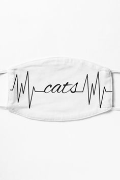 Cats in heartbeat line. A purrfect design for cat moms and cat dads who love their feline friends. If you love cats, this is made specially for you. #catloverfacemask #catlovermask #catloveraccessory #funnycatgift #funnycat #catheartbeat #catlovefacemask #catmomgift #catdadgift #catmomfacemask