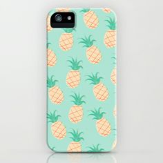 Pineapple+++iPhone+&+iPod+Case+by+Sibylline+-+$35.00