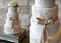 18 Fabulous Bridal Gown Inspired Wedding Cakes - Mon Cheri Bridals