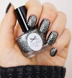Glitter Nails - Breite Nägel optisch schmaler schummeln!
