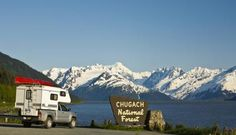 Don't miss Alaska National Parks. Ambling along Alaska's Scenic Byways you might encounter Dall sheep, beluga whale, surfers trying to catch a bore tide…the list goes on and on! Photo by: ATIA/Michael DeYoung