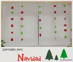 Guirnalda navidad manualidades crafts pinterest - Guirnaldas navidad manualidades ...