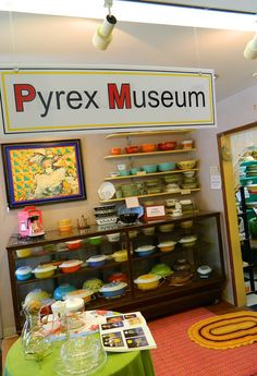 Pyrex Museum ........Bremerton, WA ... Aracely Hernandez WTF?! this was pinned days ago. Also, Sasha used to work in Bremerton. Um. Signs of a road trip??
