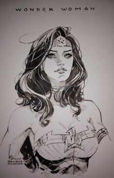 Wonder Woman by Kenneth Rocafort, in Richard Oh's Kenneth Rocafort Comic Art Gallery Room