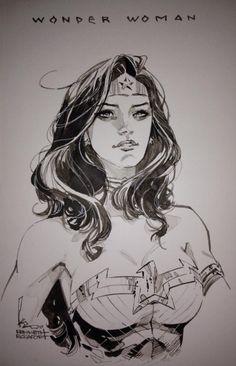 Wonder Woman by Kenneth Rocafort, in RichardOh's Kenneth Rocafort Comic Art Gallery Room