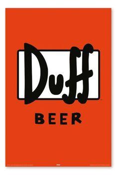 Duff beer - The Simpson