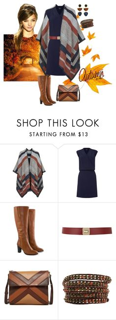 """""""Autumn Beautiful"""" by curvygirlamy ❤ liked on Polyvore featuring Topshop, Warehouse, Jilsen Quality Boots, Maison Boinet, Isabella Fiore and Lizzie Fortunato"""