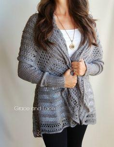 Oversized Knit Cardigan (PREORDER)