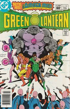 Green Lantern Vol. 21 No. 161  1983  Omega Men Appearance by TheSamAntics