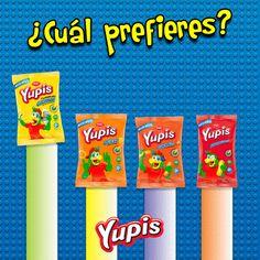 ¿Cuál de los sabores de #Yupis está en tu ranking más alto?  #snacks #rico #comida #food #foodporn #Recipe #Picar #Yum #Healthy #Yummi #Lonchera #delicious #Yupi