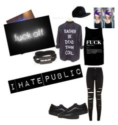""""""""""" by lingering-souls-vocals1 ❤ liked on Polyvore featuring McQ by Alexander McQueen, Vans, women's clothing, women, female, woman, misses and juniors"""