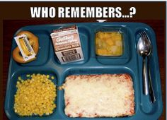 I hated this pizza back in the day....but boy am I craving it now!!!