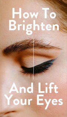 Read more on SheFinds! Eye Liner Tricks, White Eyeliner, Eyeliner Brush, Skin Makeup, Skin Care Tips, Sephora, Helen Phillips, Panda Eyes, Smudger