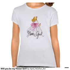 Will you be my Flower Girl? Tee Shirts