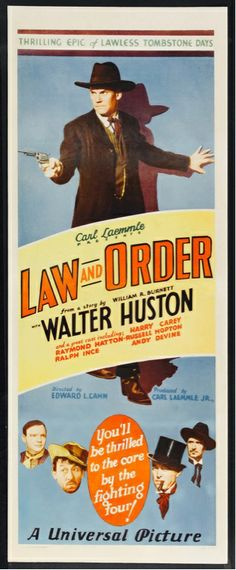 'Law and Order' (1932) ...