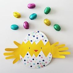 2 ideer til det sødeste påskepynt - DIY Diy For Kids, Crafts For Kids, Easter Crafts, Easter Ideas, Holidays And Events, Diy And Crafts, Projects To Try, Kids Rugs, Bird