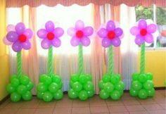 Flores globos