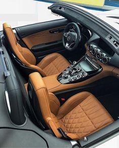 Automotive Upholstery, Car Upholstery, Fancy Cars, Cute Cars, Mercedes Benz Suv, Custom Car Interior, Car Colors, Car Interiors, Dashboards