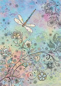 BugArt Decoratives ~ Dragonfly. DECORATIVES Designed by Jane Crowther.