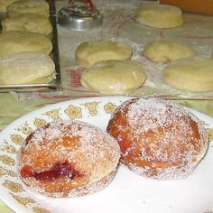 How to Make Polish Doughnuts or Paczki - Step-by-Step Instructions for Making Traditional Polish Paczki or Doughnuts