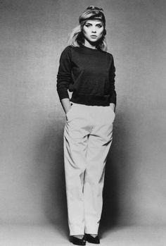 5to1:  Debbie Harry  www.fashionfortheforecast.com #style #inspiration #whattowear #london #weather #forecast #fashionforecast