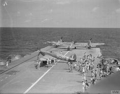 Hawker Sea Hurricane: Operation Pedestal: HMS Indomitable, August 1942 — Armoured Aircraft Carriers in World War II BFD Royal Navy Aircraft Carriers, Navy Carriers, Hms Furious, Hawker Hurricane, Ww2 Planes, Ww2 Aircraft, Flight Deck, Submarines, Luftwaffe