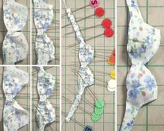 Doll bra pattern xD If it's simple enough to be made for a Licca, it shall work for an MSD x3