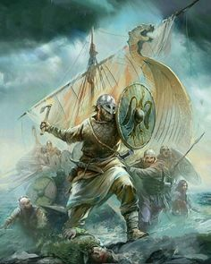 The question here is, what made the Vikings so powerful not only in their battlefield but also their normal life where the nature didn't favor these men. Art Viking, Viking Armor, Viking Life, Viking Warrior Men, Vikings Tv, Norse Vikings, Tattoo Barco, Viking Power, Armadura Medieval