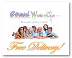 Conni-Western Cape (Pty) Ltd.  Adult Incontinence Products VS Adult Disposable Diapers  Free Delivery   Western Cape, South Africa    Contact Conni-Western Cape (Pty) Ltd.  Adult Incontinence Products  Western Cape, South Africa  Call: 081 772 6015  Email: JP.vZ@Conni.co.za