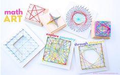 Math Art Idea: Explore Geometry Through String Art