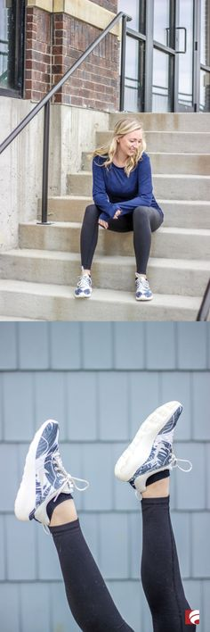 Get even more comfort in your stylish sneaker look with the Kaishi 2.0 Sneaker from Nike! Meagan of blog A Dash of Bruck sports her printed Kaishi 2.0 sneakers as a part of a laid-back athleisure look perfect for a trip to the gym or running weekend errands. The Kaishi 2.0 features a seamless mesh upper in a casual fashion sneaker style, low-cut design inspired by the Nike Roshe One and iconic Nike swoosh. This style is available in four additional prints and colors!