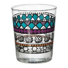 IKEA - MURKLA, Vaso, El vaso es bajo y tiene una forma sencilla y recta, por lo que es perfecto para servir todo tipo de bebidas frías, como cócteles sin hielo.