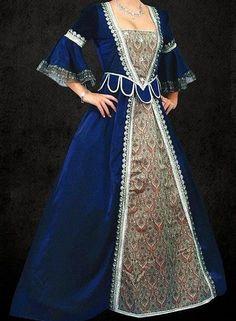 Custom made Medieval gown Anne Bolyne Tudor queen by cindysboho, £275.00